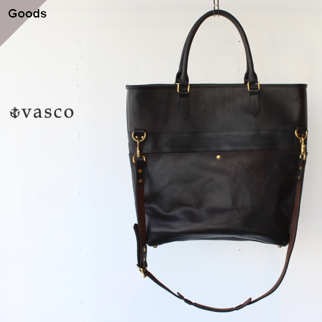 vasco ヴァスコ LEATHER NELSON 2WAY BAG VS-244LS ブラック