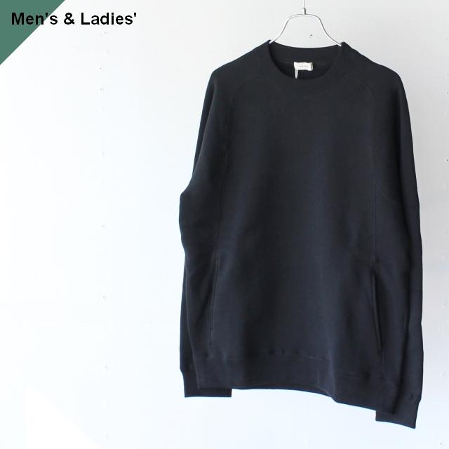 THE HINOKI ザヒノキ コットン裏起毛スウェットシャツ Black TH20W-16