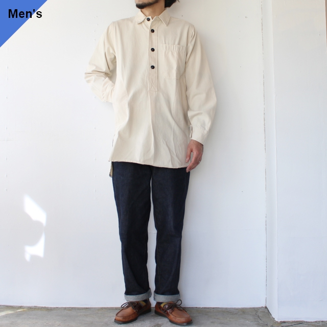 Yarmouth Oilskins The Worker Shirt ナチュラル