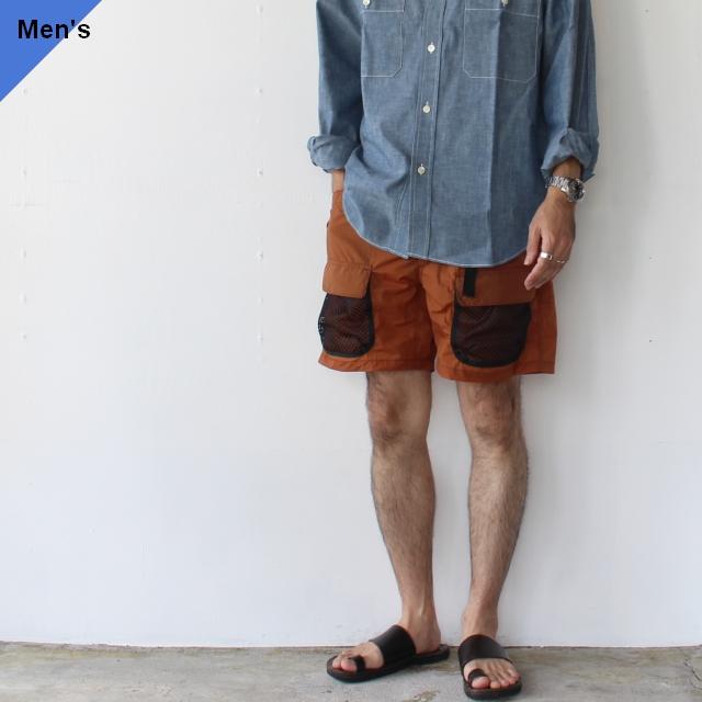 Utility Shorts EM-ST-P09 (Brick brown)