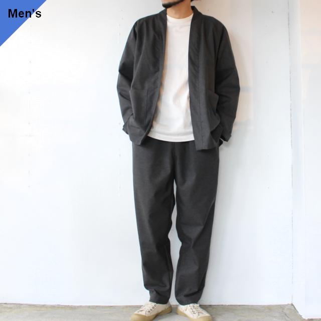 HATENA SHIRTS / RELAX PANTS イージーセットアップ Charcoal
