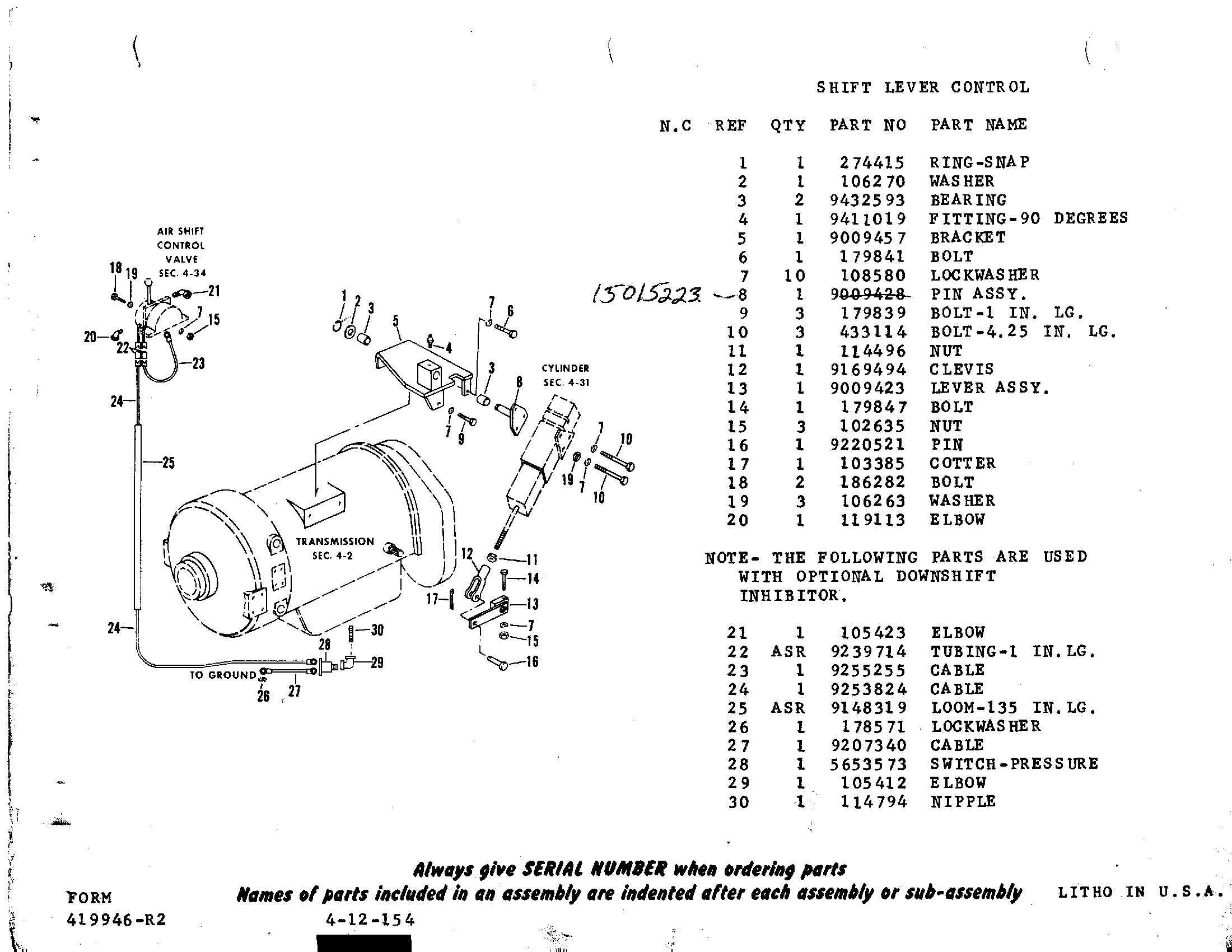allison 3060 transmission wiring diagrams