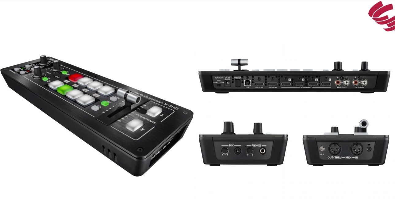 Roland V1-HD Videomixer | Creative-Event-Consulting