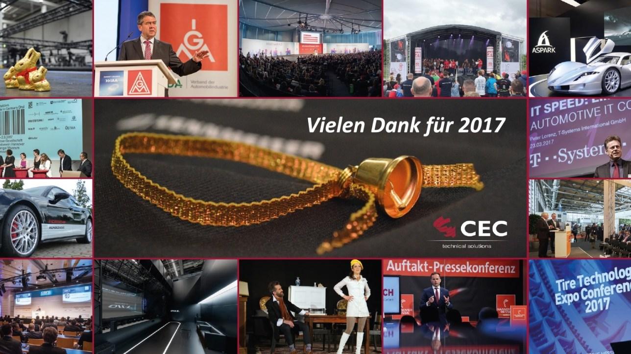 Frohe Weihnachten wünscht CEC | Creative-Event-Consulting