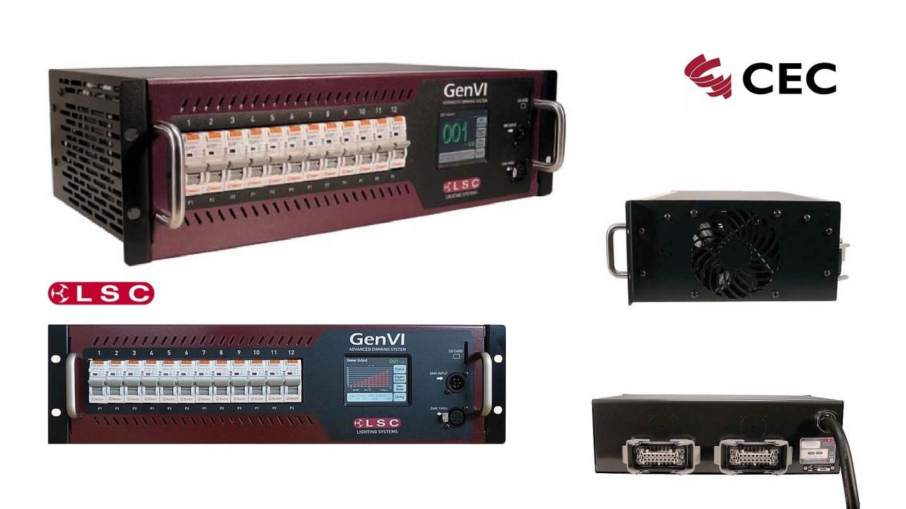 LSC, LSC Lighting Systems, Dimmer GenVI, 12x16A, Touring Dimmer, Dimmerrack, Dimmer Hannover, Veranstaltungstechnik Hannover