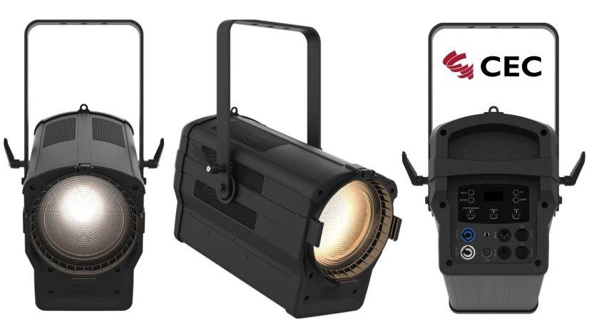 Chauvet, Chauvet Ovation F-915VW, variable White, LED Fresnel, LED Stufenlinse, Dry Hire Hannover, Veranstaltungstechnik Hannover, Medientechnik Hannover