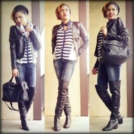 Stripes, Leather Up