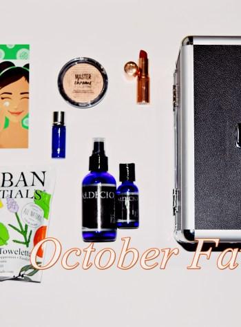 C's October Favorites