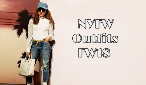 Outfits for NYFW FW18