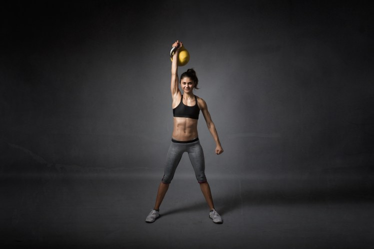 kettlebell training for a girl
