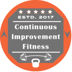 Continuous Improvement Fitness Logo