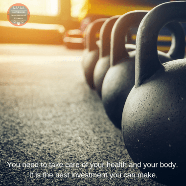 Your health is the best investment you can make - Start Training at Home
