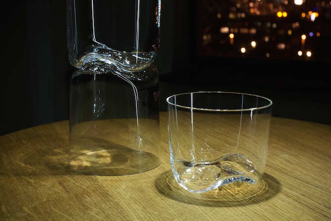 Wave glasware | wijnglas - bierglas - frisglas - whiskey glas | Maarten Baptist | Room|LOFT#2 | C-More Concept Store