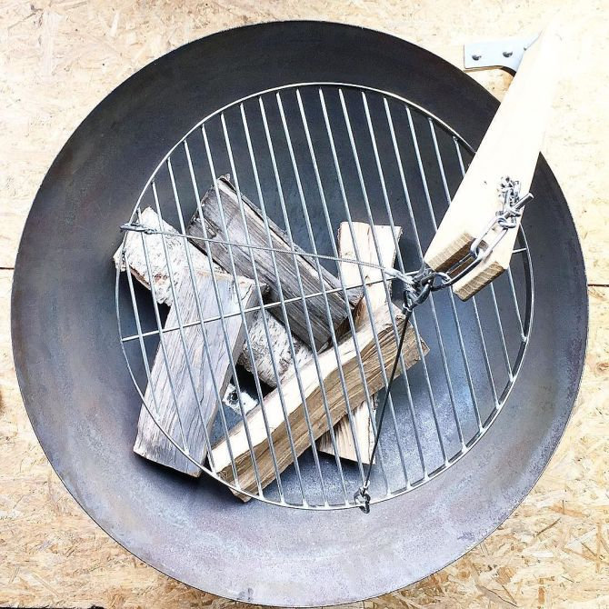 Made in Nijmegen bij C-More Concept Store | Samosa's vuurschaal