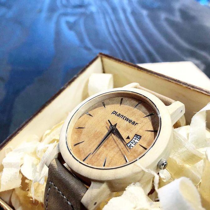 Wooden Amsterdam Houten Horloges bij C-More Concept Store