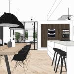 Sketchup cursus bij C-More Concept Store maart 2019
