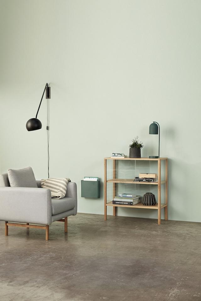 Hubsch bij C-More Concept Store | wandlamp | Verlichting Kast met glazen deuren open schappen opbergen