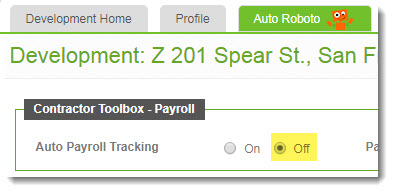 CR-Insight® Auto Payroll Tracking