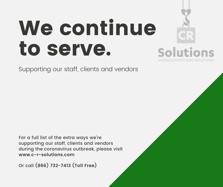 CR Solutions helping clients, staff and vendors