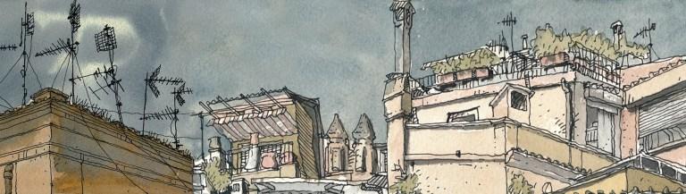 Garbatella drawing classes with C-Rome