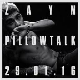 pillow talk lyrics and music by zayn