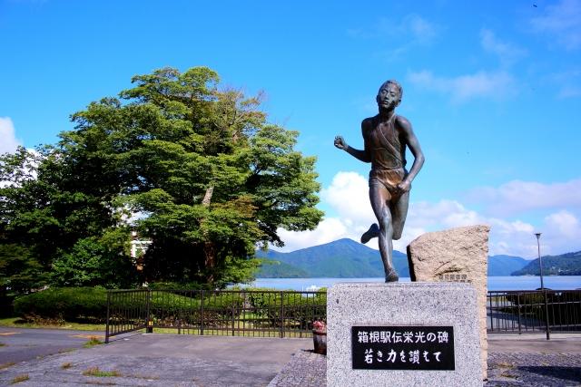 箱根駅伝の像