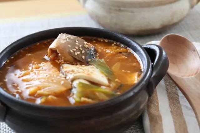 「世界一受けたい授業」サバ味噌煮缶鍋の作り方!健康鍋のレシピ!