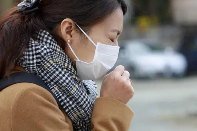 インフルエンザによる咳