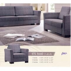 Sofa Gray Color Cassina Lc2 3 Sitzer 1 2 Leather Cushion Lounge C End 4 30 2021 12 00 Am
