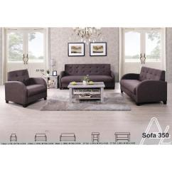 2 Cushion Sofa Black With Wooden Furniture 1 3 Seater Fabric Lo End 4 28 2021 12 00 Am