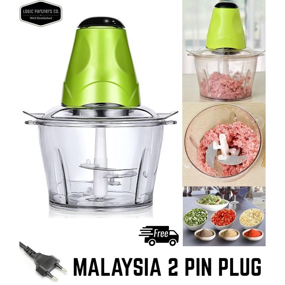 electric grinder kitchen ebay sinks 1 5l large food cho end 6 2021 12 00 am chopper meat vege blender mincer