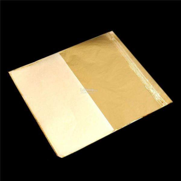 Imitation Gold Leaf Sheets - Year of Clean Water