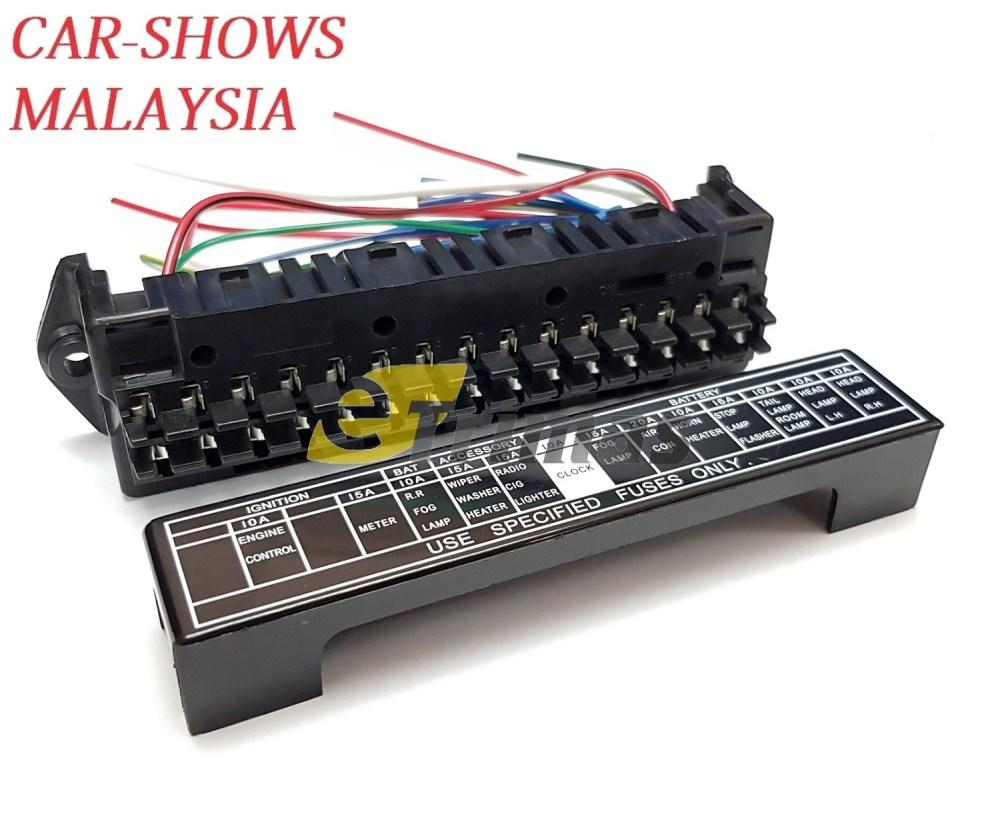 medium resolution of fuse box price malaysia wiring library 15 poles automotive plug in fuse block modify myvi viva