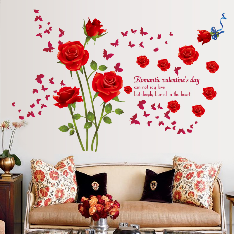 wall stickers living room top colors for 2016 3d flower r end 2 26 2019 5 59 am
