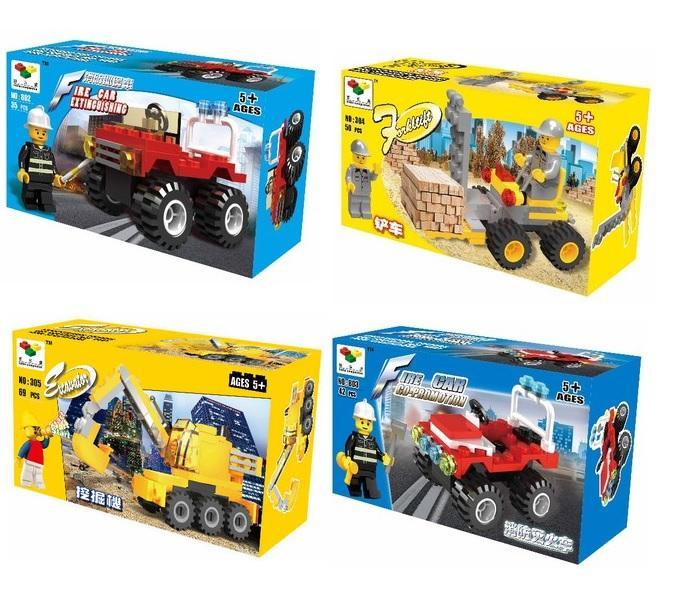 4 Sets x Compatible Lego Like Brick (end 11/11/2016 2:15 PM)