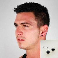 4mm Stud Earrings For Men