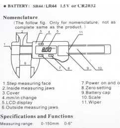 6 digital gauge vernier caliper fiberglass lcd electronic callipers 150mm mea [ 1000 x 1000 Pixel ]