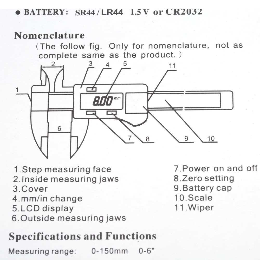 hight resolution of 6 digital gauge vernier caliper fiberglass lcd electronic callipers 150mm mea