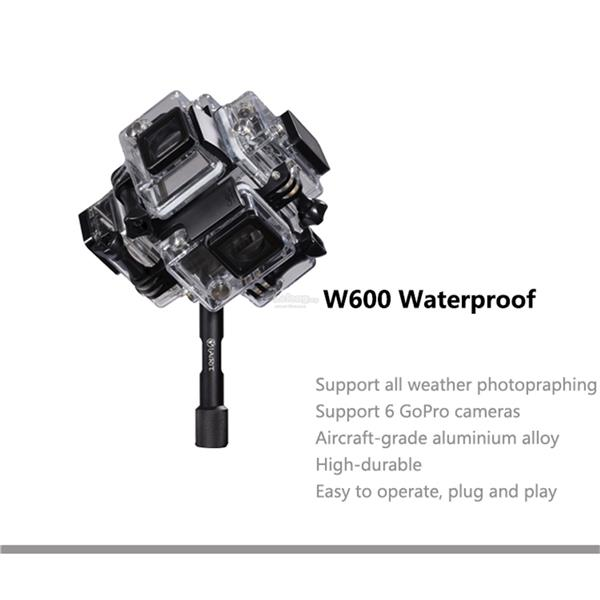 6 heads waterproof panorama gimbal fr (end 1/2/2018 3:15 PM)