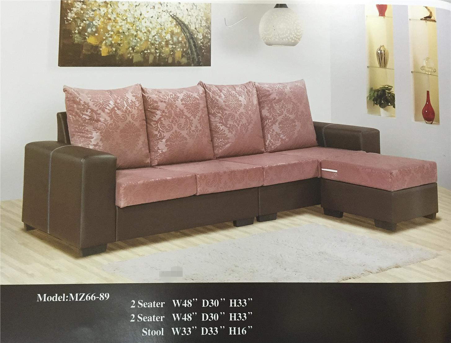 sofa bed murah malaysia 2018 rv with footrest ansuran bulanan l shape mo end 4 8 6 15 pm