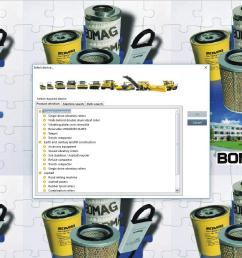 bomag heavy and light machines electronic parts catalogue  [ 1899 x 998 Pixel ]