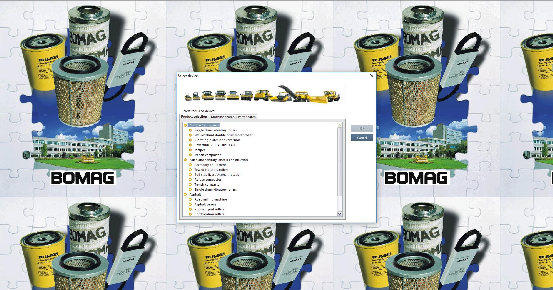 hight resolution of bomag heavy and light machines electronic parts catalogue