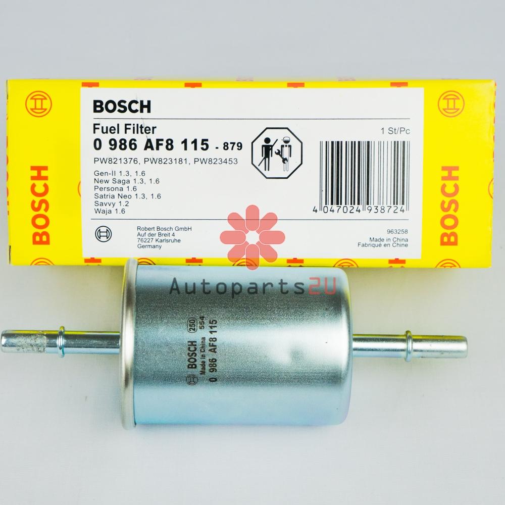 hight resolution of bosch fuel filter for proton waja gen2