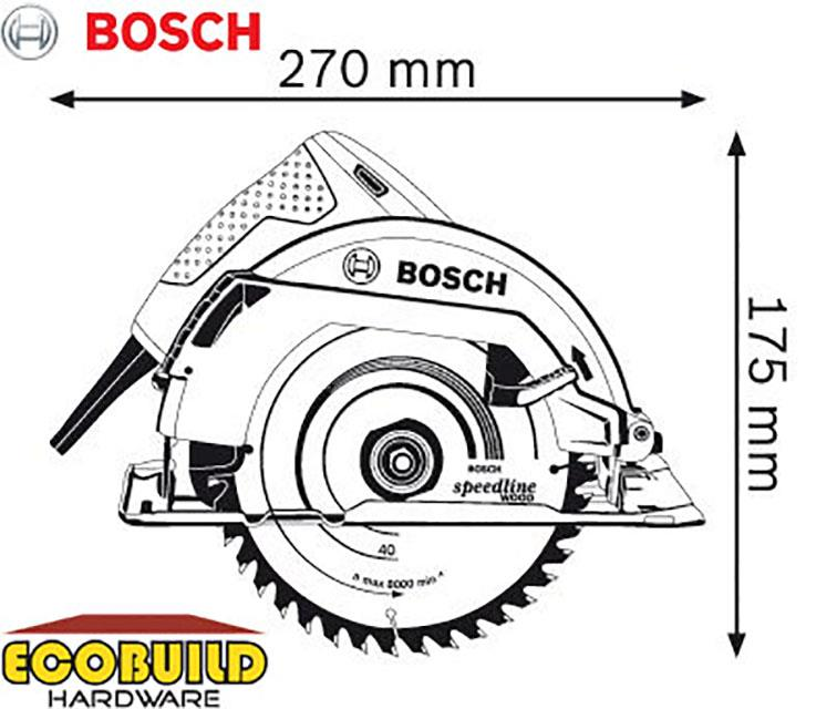 BOSCH Hand-Held Circular Saw GKS 700 (end 3/4/2020 11:15 AM)