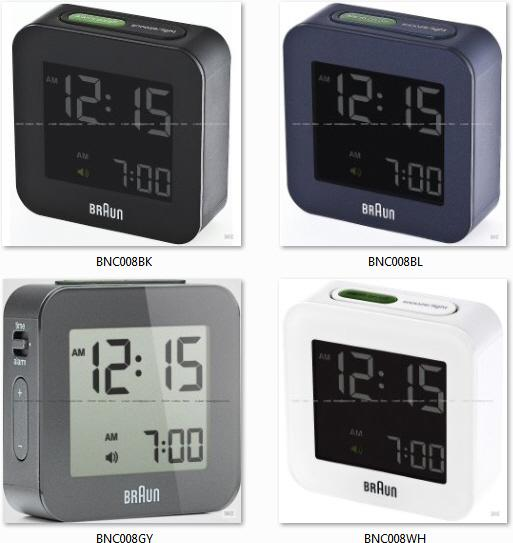 Braun Bnc008 Digital Travel Alarm C End 8 20 2019 11 59 Pm