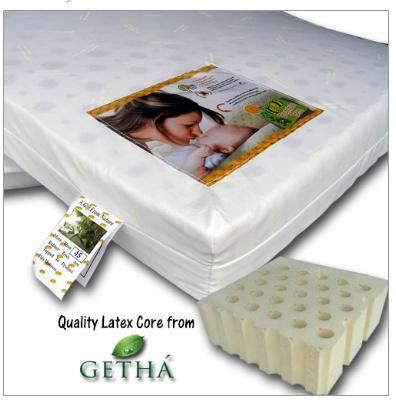 Ble Bee Getha Latex Baby Cot Mattress 24 X 48