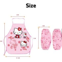Kitchen Apron For Kids Red And Yellow Curtains Cartoon Doraemon Hello Kitty End 12 20 2019 22 Pm Art