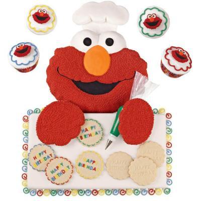Cartoon Sesame Street Elmo Cake Tin C End 552020 146 Am