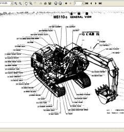 caterpillar and mitsubishi construction legacy parts manuals  [ 1360 x 768 Pixel ]