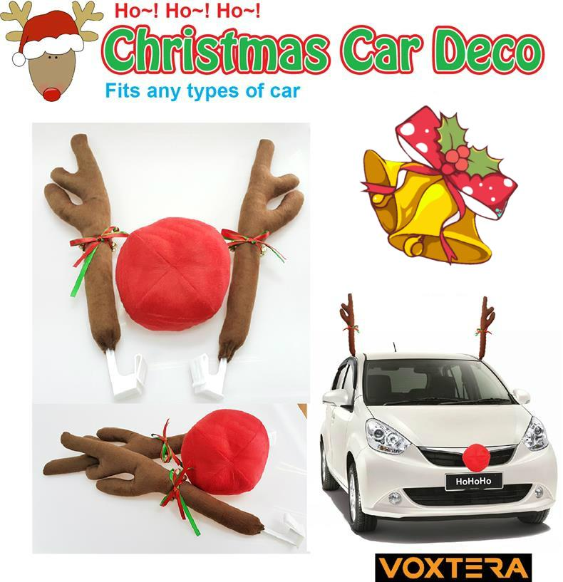 Car Christmas Decorations Reindeers | Psoriasisguru.com